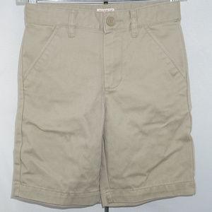 Cat & Jack Khaki chino short pants EUC 8